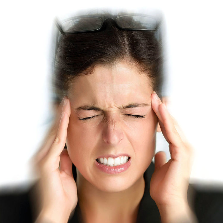 Patient suffering with dizziness. Treatments are available from Tom Claykens at Biddenden Chiropractic.
