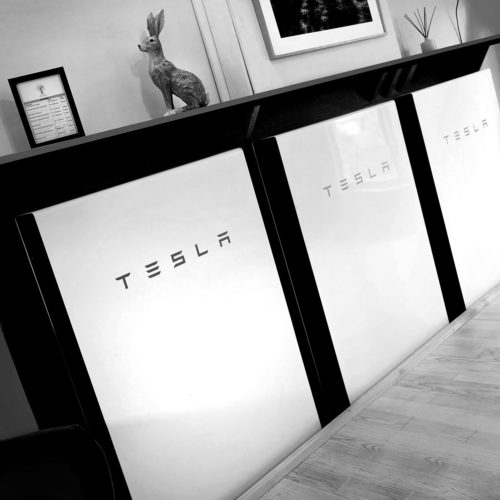 The Tesla batteries that power the Biddenden Chiropractic clinic. We offer a range of treatments for back, shoulder, knee and neck pain.